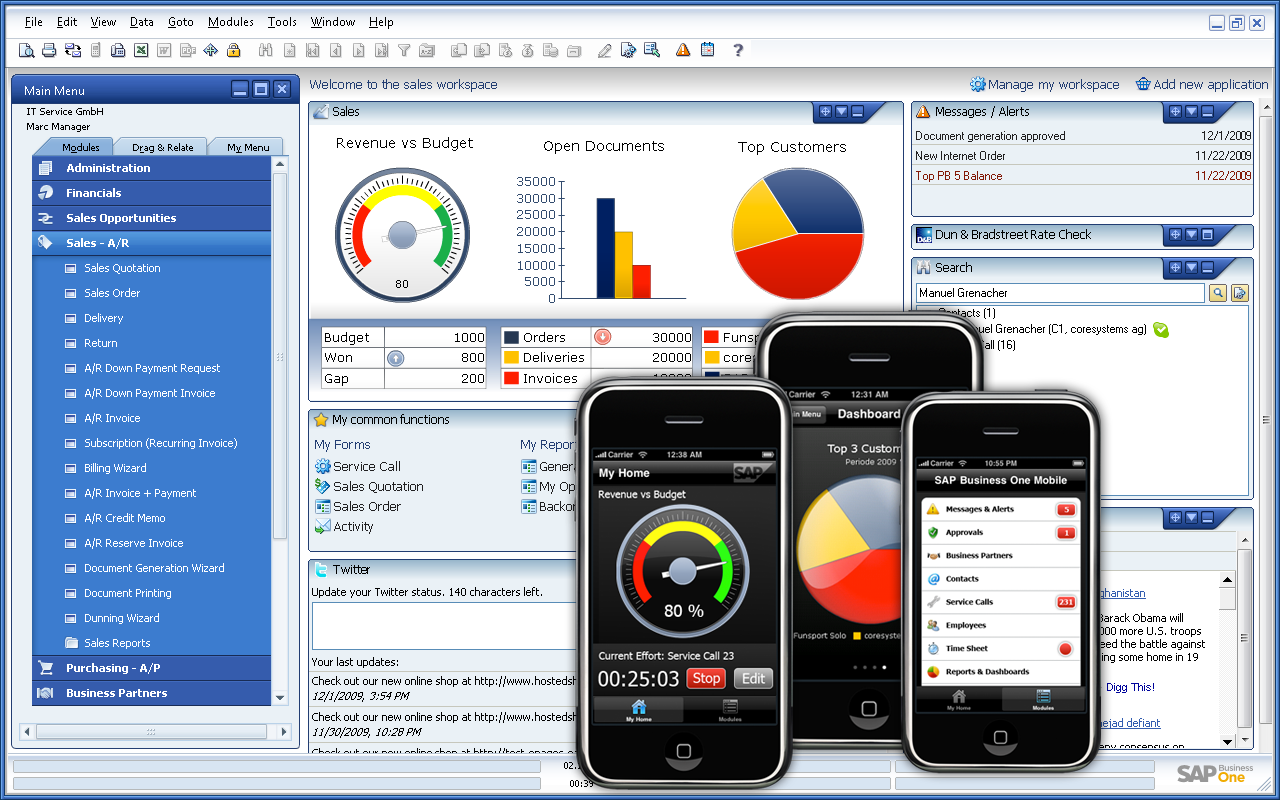 Sap Business One - CRM - Devices