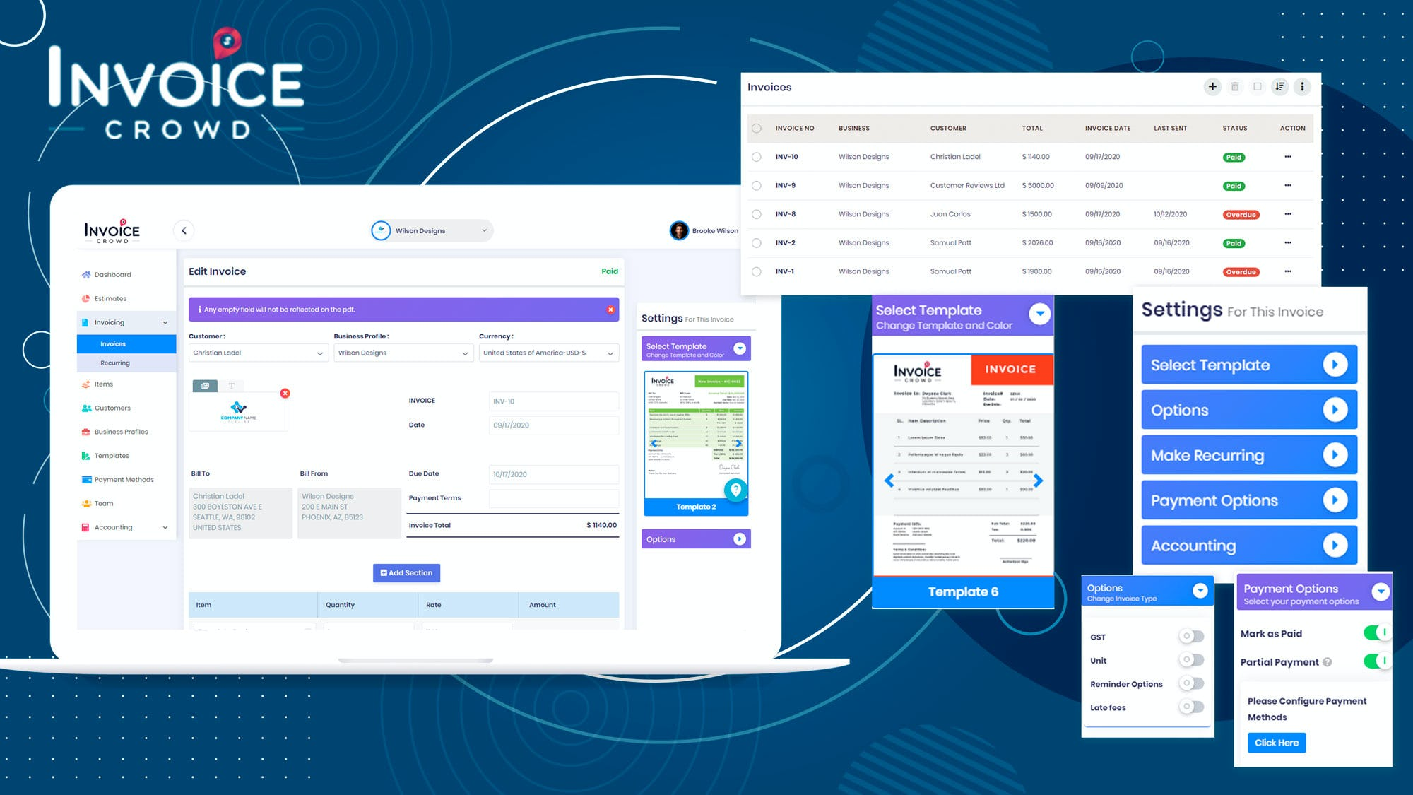 Invoice Crowd Pricing Cost Reviews Capterra Singapore 2021