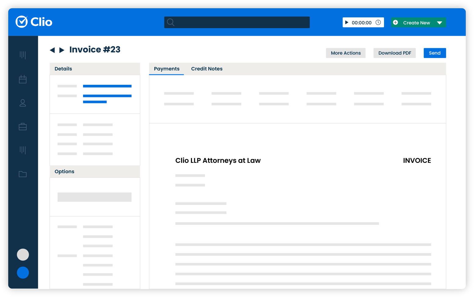 Clio Software - Generate bills in one click. Spend less time on time and expense tracking, review bills faster, and share client invoices easily.