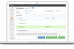 Knowify screenshot: Prepare a quote for a homeowner or a large, multi-phase bid for a commercial general contractor.