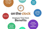 OnTheClock.com Screenshot: Our time clock benefits.