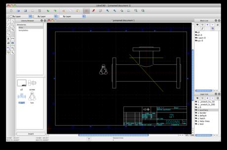 LibreCAD Software - 2