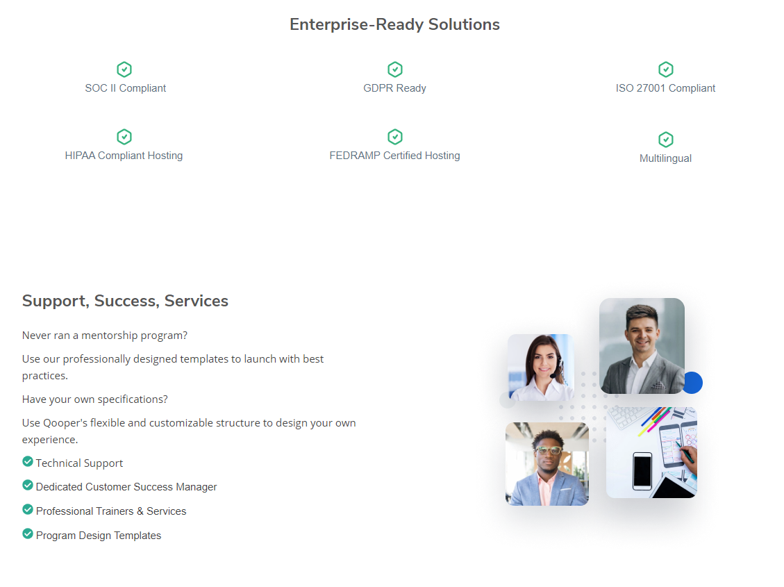 Enterprise Ready & Support