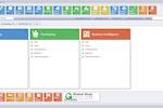 Captura de tela do Global Shop Solutions: Global Shop Solutions - Main Menu