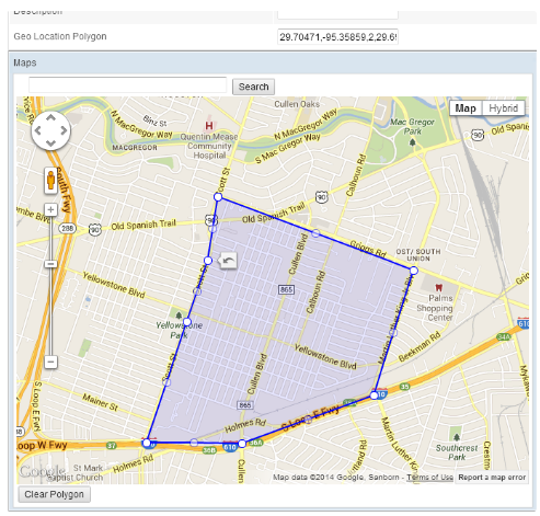 Dynamic Public Safety allows officers to map their jurisdiction