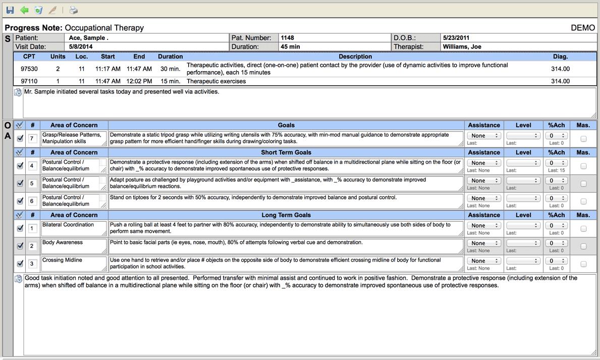ClinicSource Software - Progress note