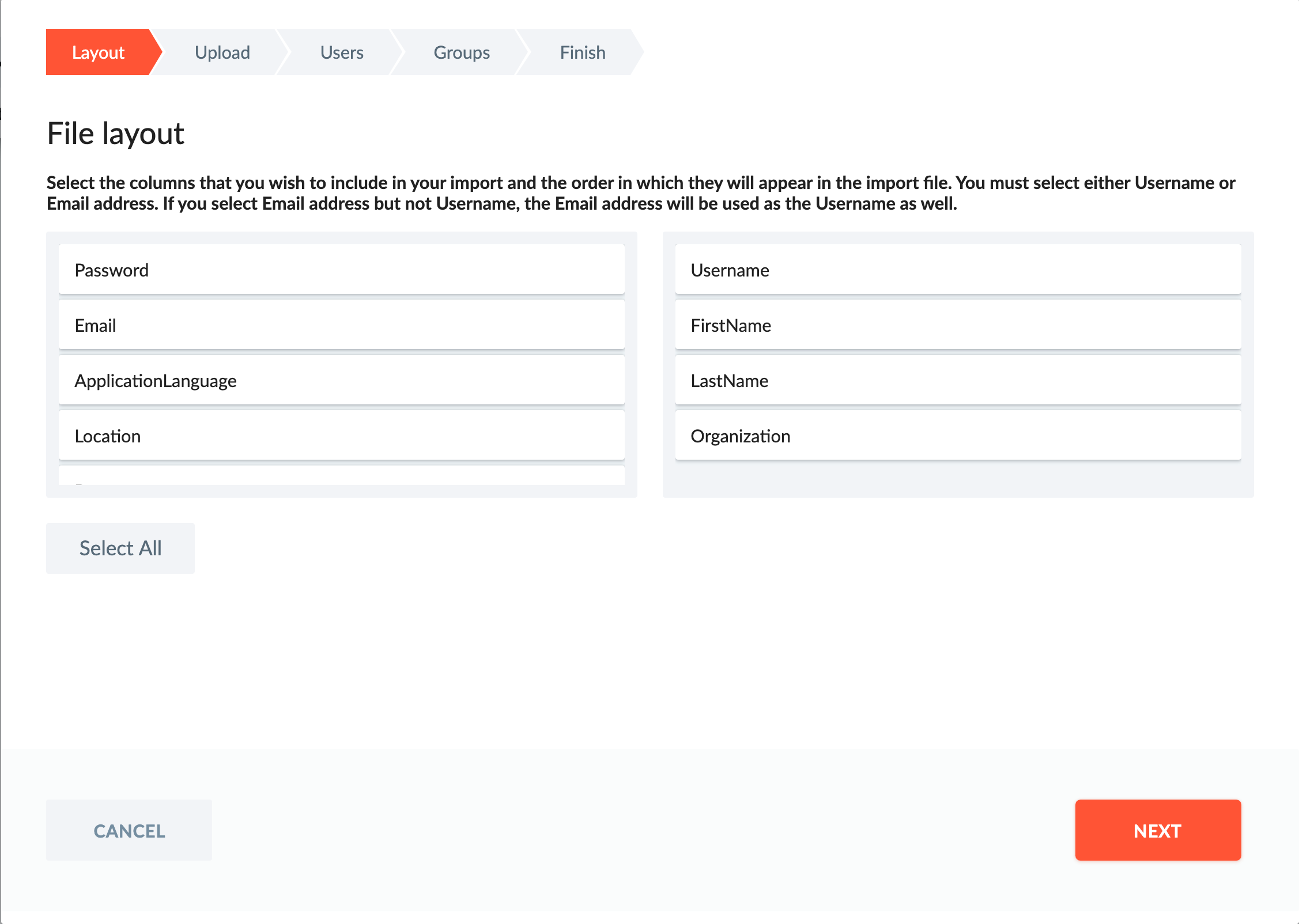 Full contact management with custom fields and import capabilities.