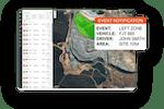 Linxio screenshot: Linxio real time notifications and alerts