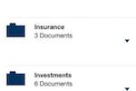 Hubdoc screenshot: Hubdoc iOS all documents
