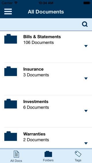 Hubdoc iOS all documents