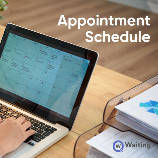 Schedule appointments hassle-free