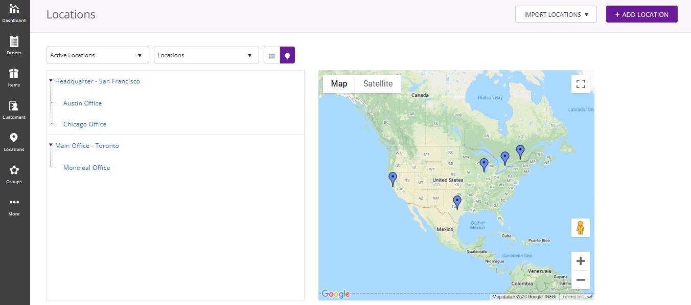 EZRentOut Location tracking