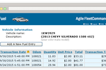FleetCommander screenshot: FleetCommander's fuel module provides tools for fuel cost management