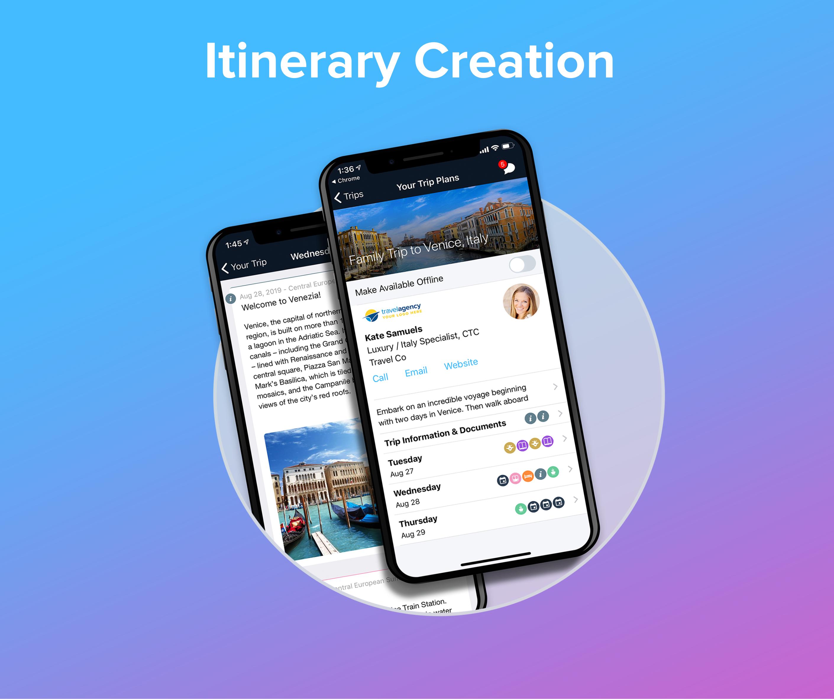 Itinerary Creation