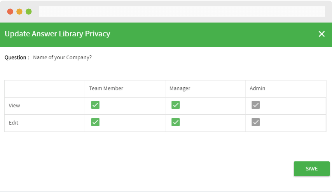 RFPIO Software - User access