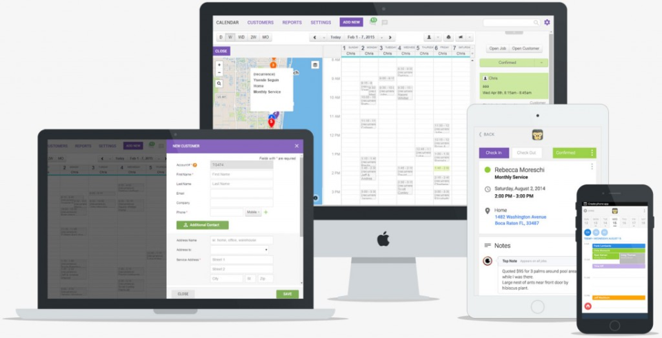 GorillaDesk screenshot: GorillaDesk can be accessed on any device using the web solution or Android and iOS mobile apps