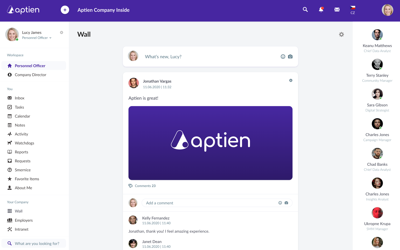Aptien Software - 3