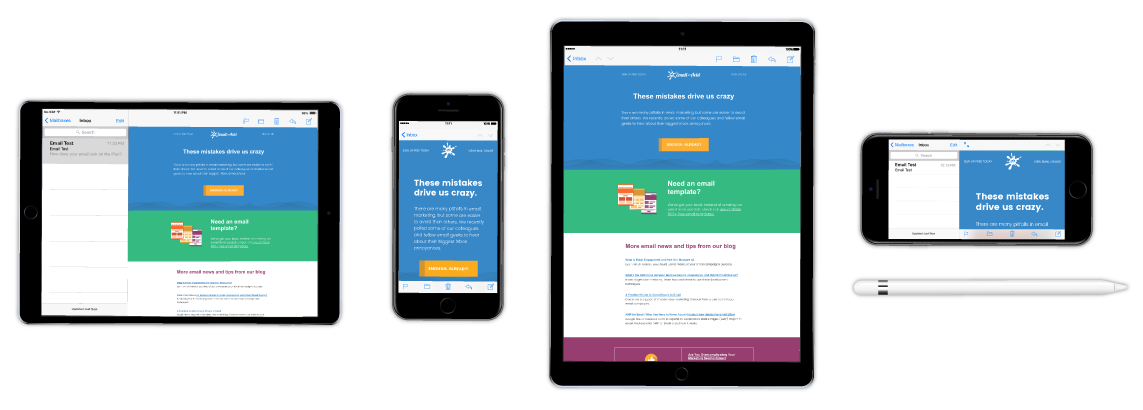 Email on Acid lets you preview your email design across the most popular clients and devices, so you know how your email will look before it hits the inbox.