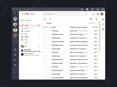 Shift Software - Shift Gmail inbox