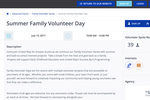 Get Connected Software - Event listings appeal to volunteers and encourage them to sign up