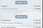 inavitas screenshot: Inavitas alarms