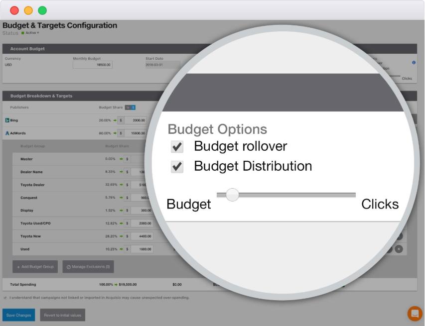 Bid and Budget Management