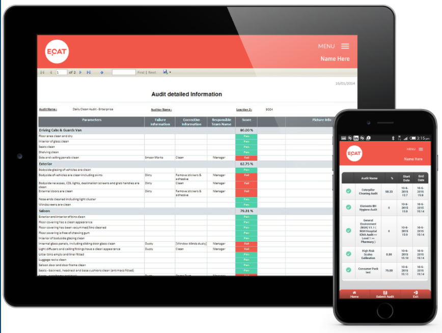 Create all types of inspections for all sorts of purposes, and view them via mobile device
