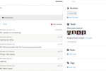 Contactually screenshot: All connected accounts automatically update with your conversations. No manual entry.
