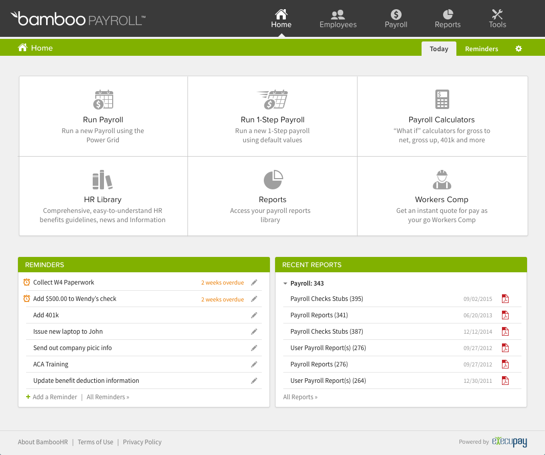 BambooHR Software - 19