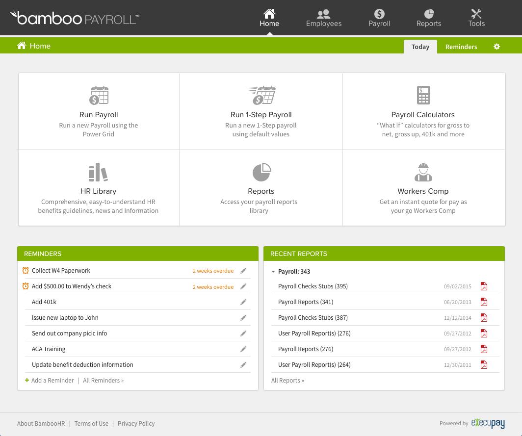 BambooHR Logiciel - 19