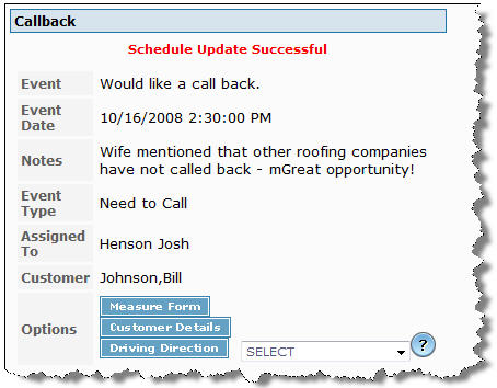 Receive reminder alerts for upcoming appointments or meetings