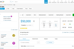 Accelo screenshot: Sale Overview
