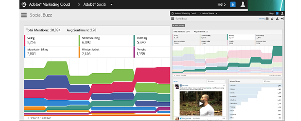 Adobe Marketing Cloud - Analytics - Social Buzz