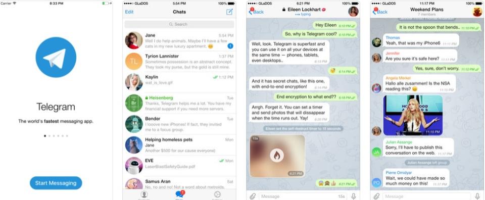 Telegram Software - Telegram Mobile