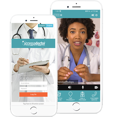 Access a Doctor Mobile App