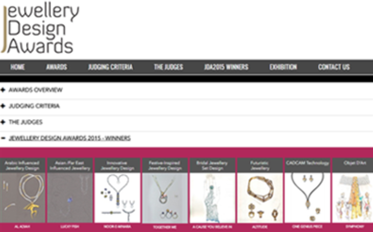 Example awards site