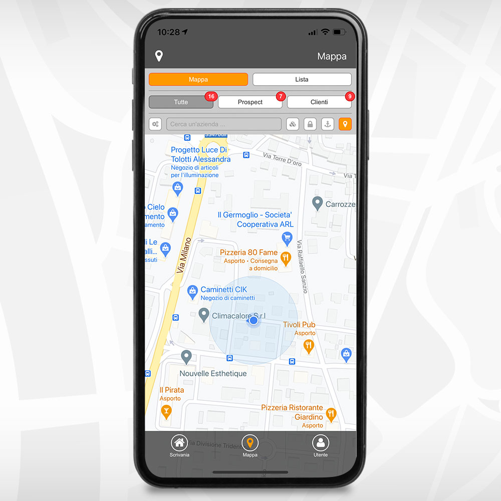 Sales2APP  maps