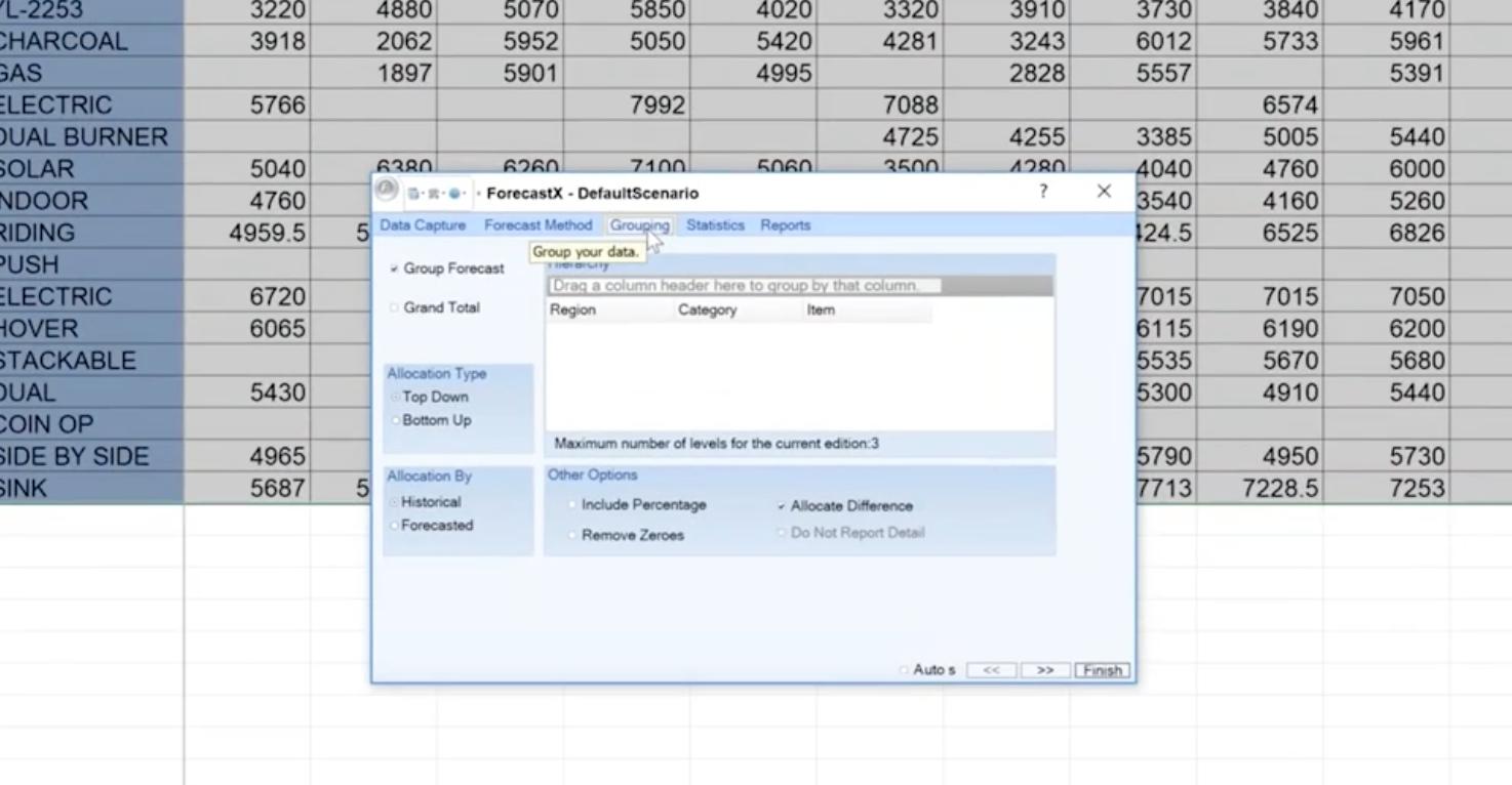 ForecastX Software - 1