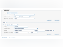 Campaigner Software - Create custom groups to deliver precise messages at scale