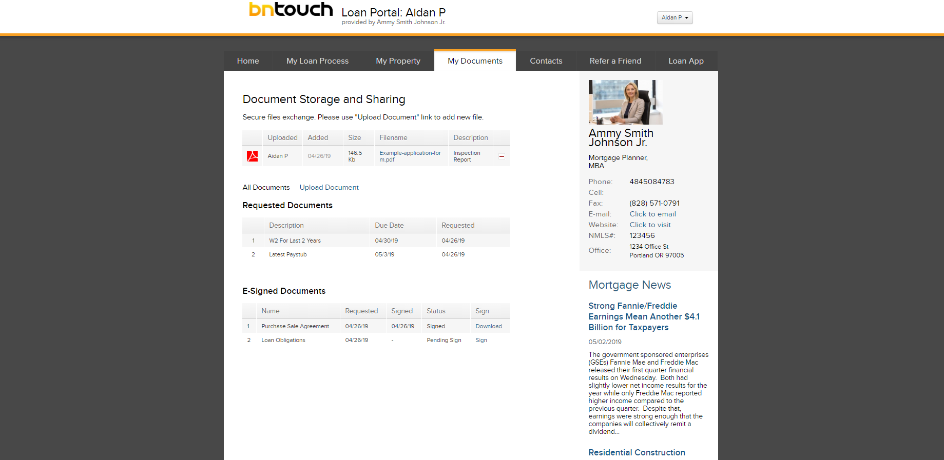 BNTouch Mortgage CRM Software - Organize contacts & leads