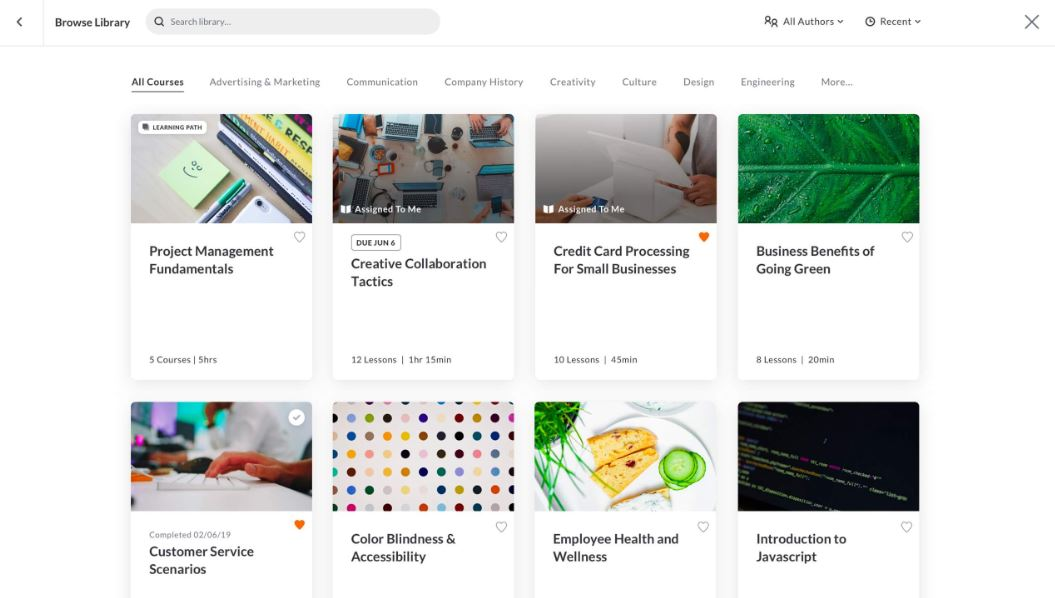 Rise browse training material