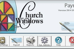 Church Windows screenshot: Print pay slips with Church Windows