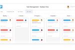 Proggio Software - Task Management view on a Kanban