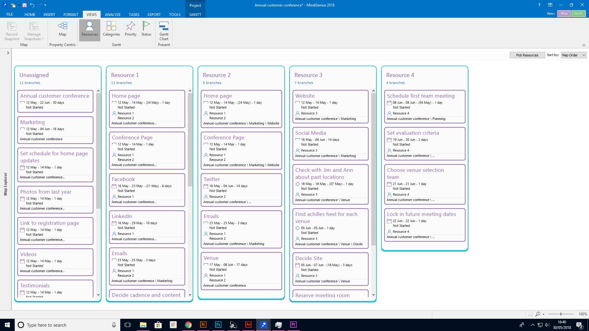 MindGenius Software - Dynamic views