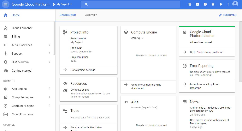Google Cloud Platform Software - 2