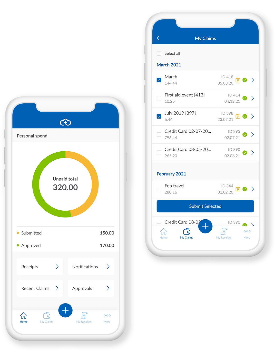 webexpenses Software - Overview of Webexpenses Mobile App