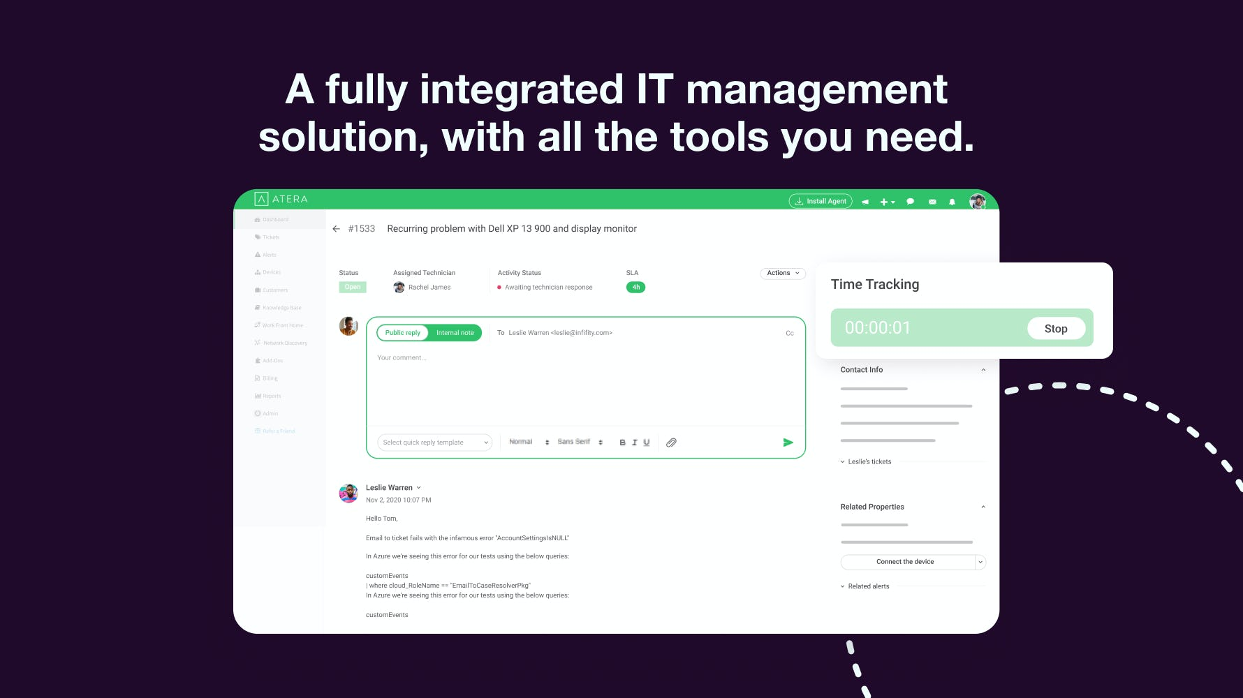 Atera Software - Fully Integrated IT Management Solution