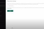 Capture d'écran pour Kaspersky Endpoint Security : Kaspersky Endpoint Security proxy server settings