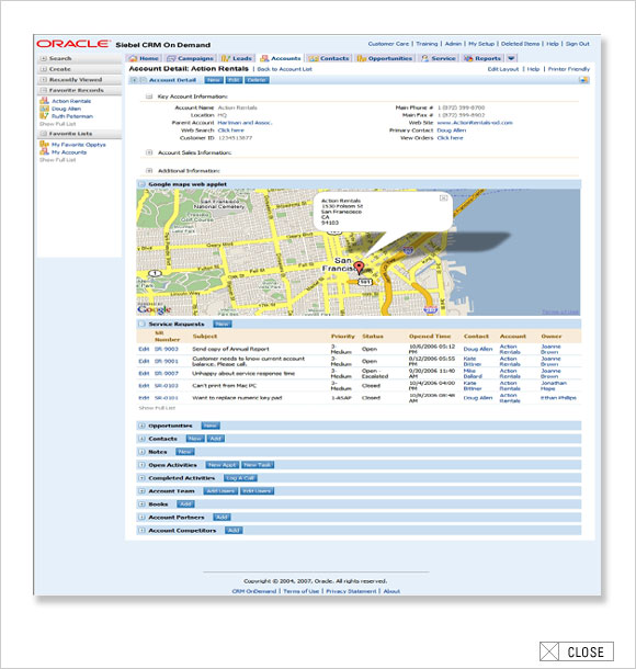 Sales Intelligence Integrated With Google Maps, LinkedIn