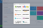 ShipBob screenshot: Connect just one or a dozen online stores to ShipBob